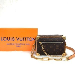 Louis Vuitton Mini Soft Trunk AUTH LEATH